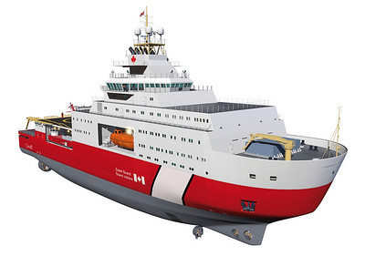 Fast-Track Polar Icebreaker