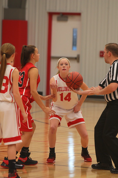 WMS Girls Basketball vs El Dorado  112916