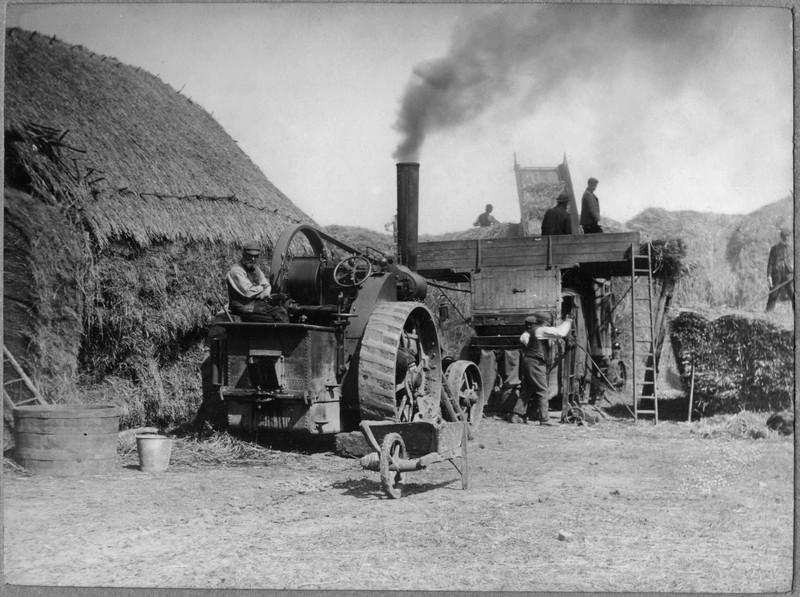 Harvest steam (Rev Holland). Provided by Elizabeth Smith