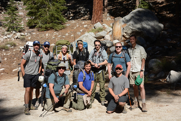 Mt. Whitney Mountaineers Route July 8-10, 2013