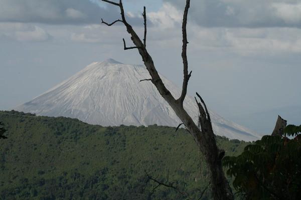 Tanzania:  Ngorongoro Conservation Area:  Hadzabe Tribe, Lake Eyasi, Embakaai Crater, Ol Doinyo L'Engai Volcano, Lake Natron