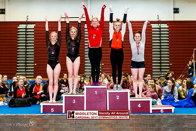 HS Sports - Cardinal Invite - Awards - February 04, 2017