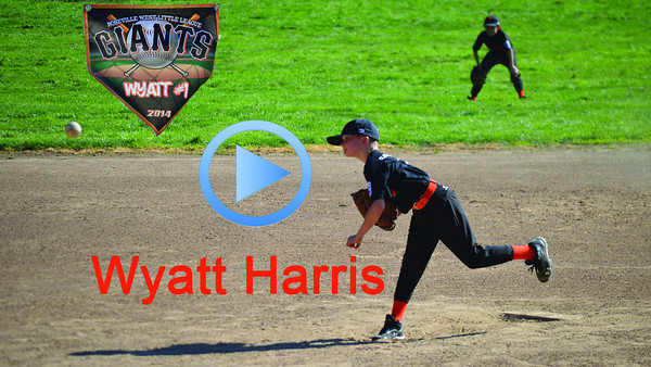 Wyatt Harris Baseball Game