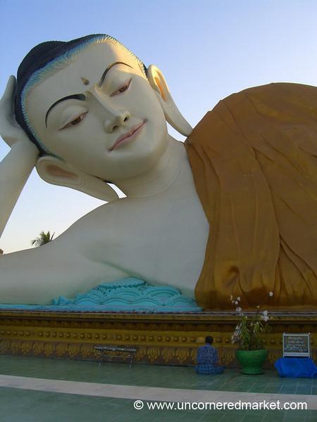 Reclining Buddha - Bago, Burma