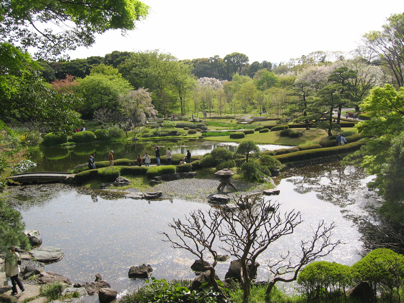 In the Tokyo Imperial Palace East Garden