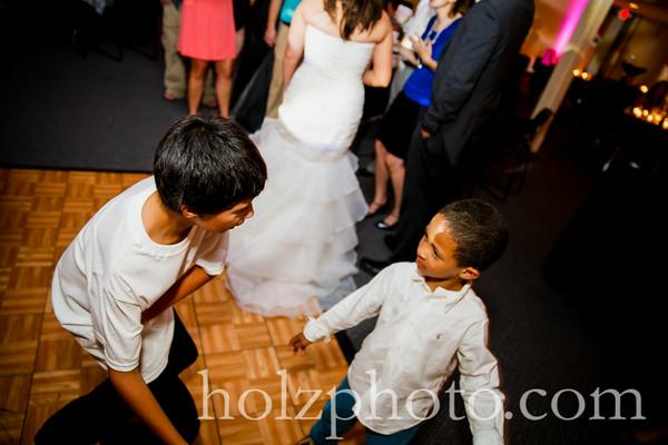 Samantha & Brandon Color Wedding Photos