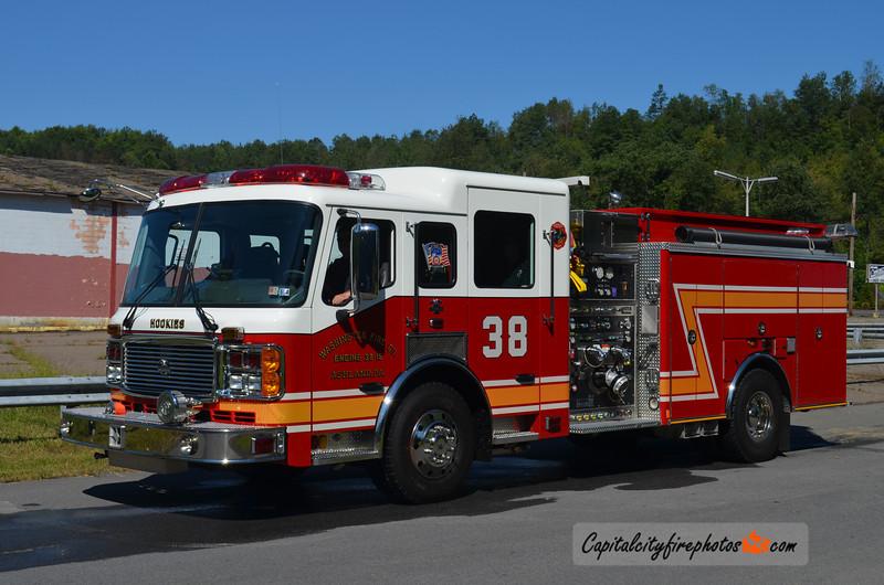 Ashland (Washington Fire Co.) Engine 38: 2006 American LaFrance Eagle 2000/750/30