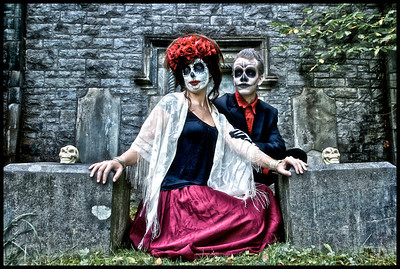 Day of the Dead (Makeup/Hair by Robin Seguin)