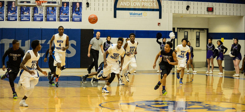 Basketball Junior Varsity vs  Crowley 12-11-13-3