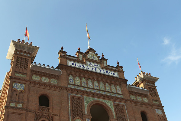 Bullfighting in Madrid Spain Sept 2011