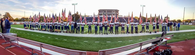 Military Appreciation Flag Ceremony 2018
