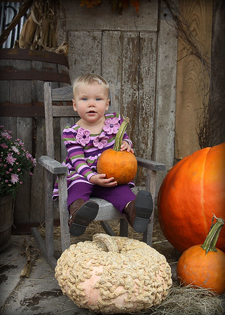 Picture and a Punkin 10-11-09