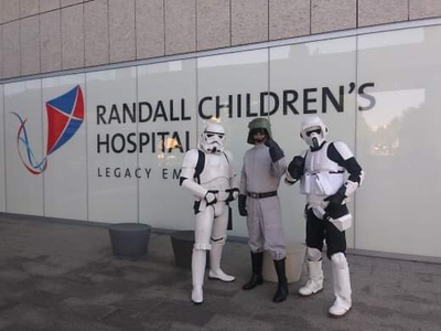 May Randall Children's Hospital Visit