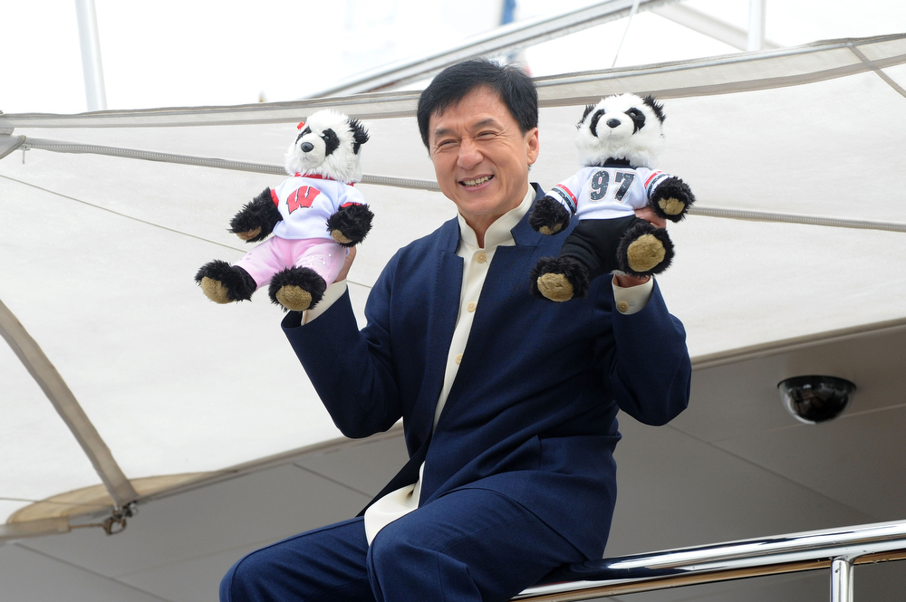 . Actor Jackie Chan attends the \'Skiptrace\' Photocall during the 66th Annual Cannes Film Festival at the Palais des Festivals on May 16, 2013 in Cannes, France.  (Photo by Stuart C. Wilson/Getty Images)