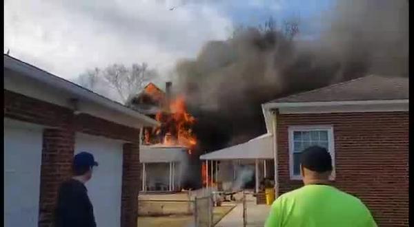 3-2-20 Camden County AUDUBON- Vassar Ave 2nd Alarm Dwelling
