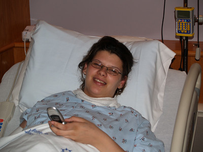 Savannah in labor with Mathue