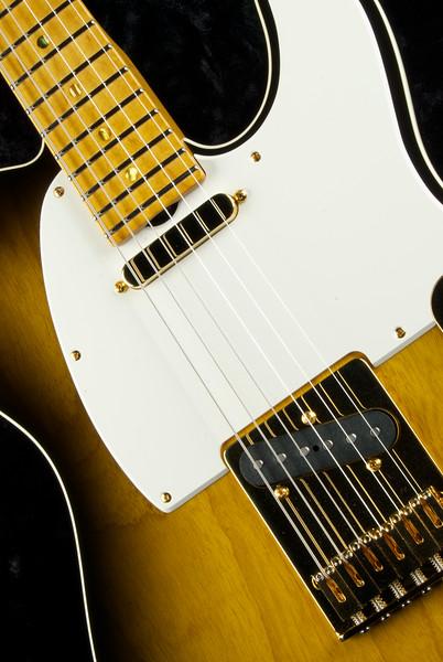 NOS Vintage T #3305 2-Tone Burst, GT, and GTX43 pickups, Swamp Ash body, Gold Hardware, Aged gloss neck.