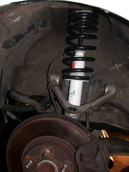 completed front strut