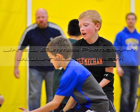 2012-12-14 Blaine 3rd Gr basketball
