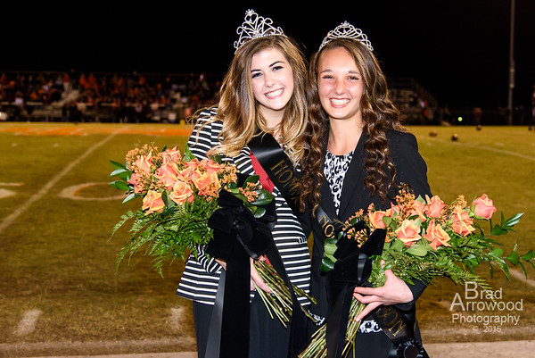 NDHS Homecoming Court and Queen Elise Morris