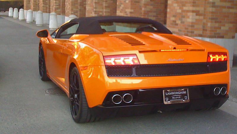 Lamborghinis on Campus
