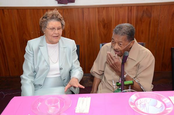 Louise Sansbury turns 80