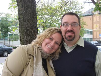 Kate and Sam around Chicago