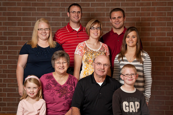 Kim & Zach's Family - 11/5/2011