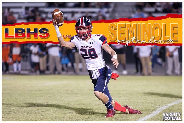 LBHS V FB vs Seminole - Sept 28, 2018 AWAY
