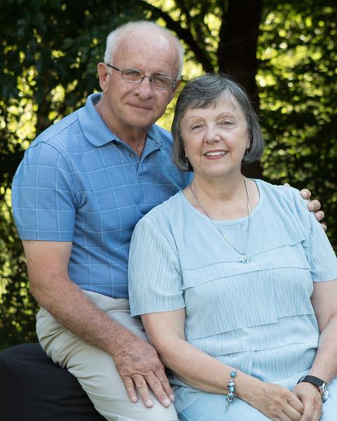 Brooks 50th Wedding Anniversary Portraits