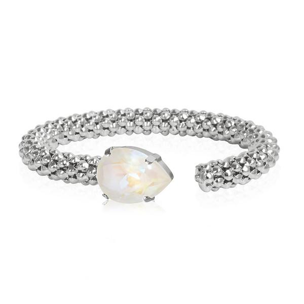 Classic Rope Bracelet / Light DeLite Rhodium