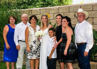 Jami & Cody Pre-Ceremony Family Photos