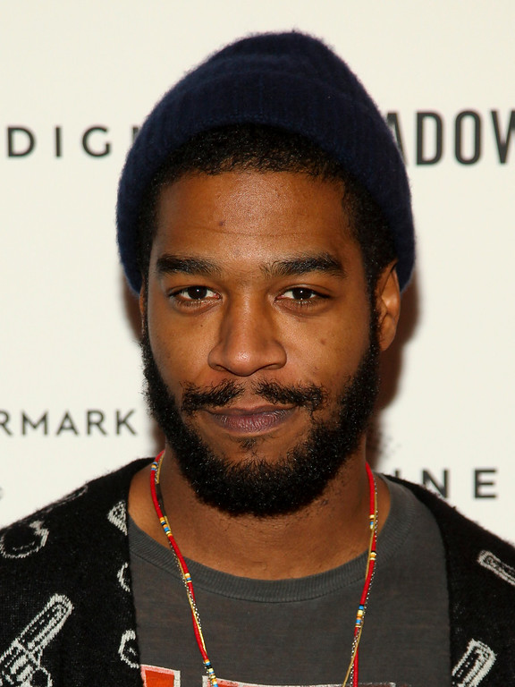 ". Kid Cudi attends a special screening of ""Meadowland\"" at the Sunshine Landmark on Sunday, Oct. 11, 2015, in New York. (Photo by Andy Kropa/Invision/AP)"