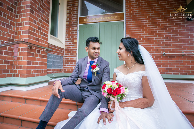 Sonika & Earon's Christian Wedding