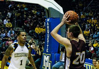 2008-12-02 Marquette Basketball vs. Central Michigan (W, 81-67)