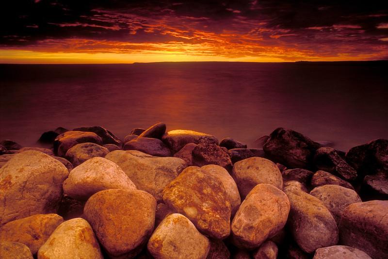 Rocks & Sunrise