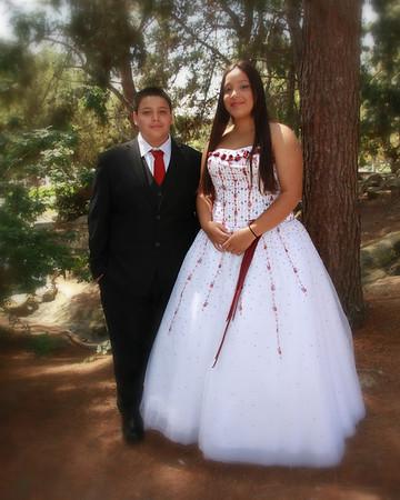 Ashlin & Carlos Quinceanera