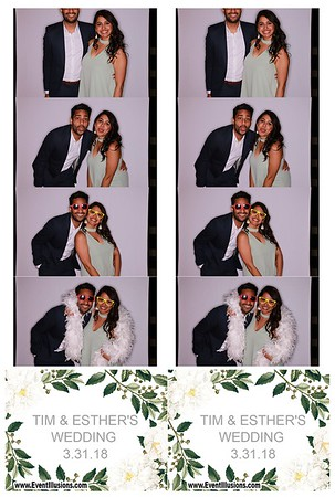 Tim & Esther's Wedding 3/31/18
