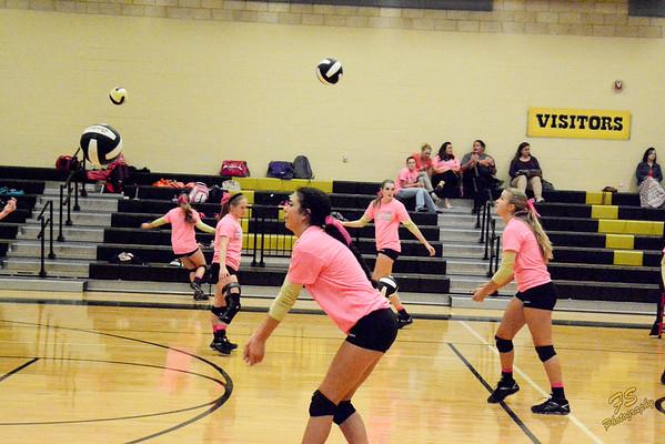 2014-10-14 - Varsity vs Smithville-PinkOut