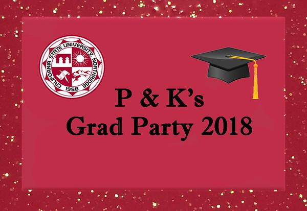 P & K - Class of 2018