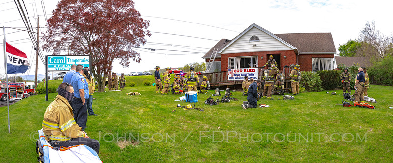 Commercial Structure Fire - 41 Rte. 17K - Good Will Fire District - 5/2/2021