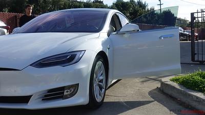 2018 Tesla Model S - Pearl White Multi-Coat
