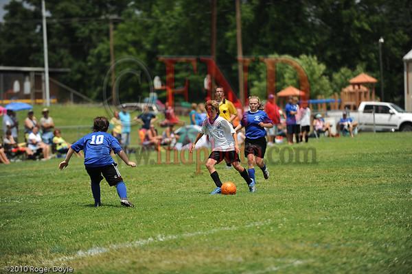 South vs East Davidson U14 Soccer