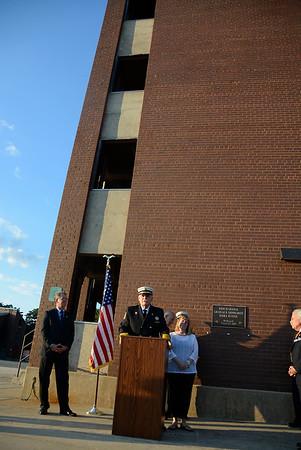 Lenhardt Drill Tower dedication 8/12/15