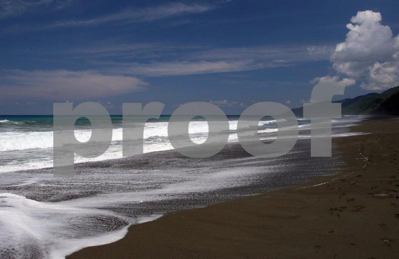 """Costa Rica"" Carribean coast line"