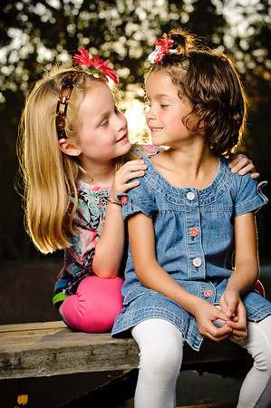 Twins: Landry and Kennedy (Family Photography, Vasona Park, Los Gatos, California)