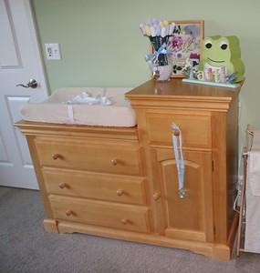 Jonah's Dresser Changing Table