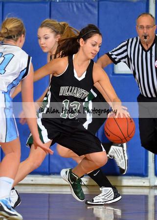Girls varsity basketball - Williamston at Lansing Catholic - Feb 17