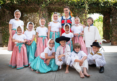 2014 Fourth Czech, Moravian and Slovak Folklore Festival in San Diego