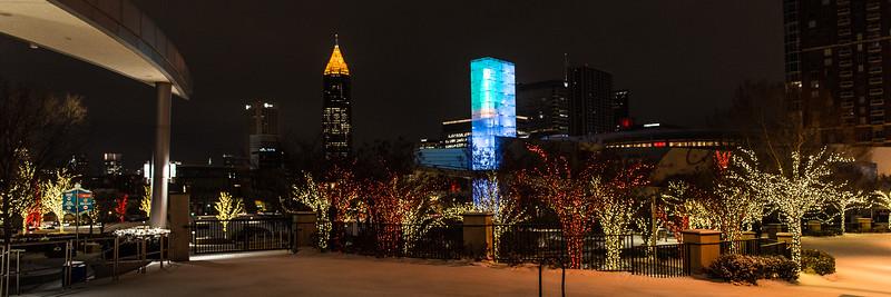 Atlanta  Snowfall 2018